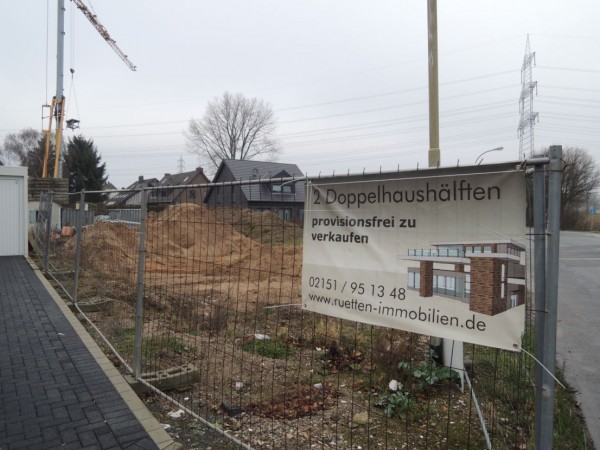 Baubeginn erfolgt!! DHH mit ca. 200 qm Wohn-/Nutzfläche in Moers-Holderberg – schlüsselfertig